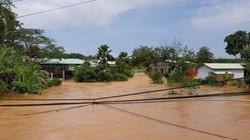 Lũ lụt khiến thành phố Đồng Xoài… thất thủ