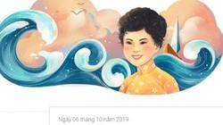 """Xuân Quỳnh - nữ thi sĩ Việt Nam đầu tiên được Google vinh danh cùng """"Sóng"""", """"Thuyền và biển"""""""