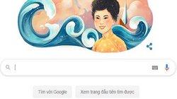 """Độc đáo """"Thuyền và Biển"""" cùng thi sĩ Xuân Quỳnh trên trang chủ Google"""