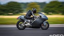 Suzuki Hayabusa đạt kỷ lục tốc độ 434 km/h, ngang Bugatti Veyron Super Sport