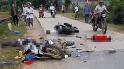 Lạng Sơn: 2 xe máy đối đầu, 5 người thương vong