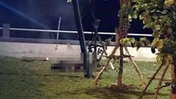 Người đàn ông bị cháy đen trong công viên ven biển ở Kiên Giang