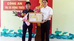 Vụ cướp tiệm vàng ở Quảng Ninh: Lái xe bán tải được tặng giấy khen