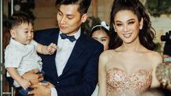 Quý tử do Lâm Khánh Chi nhờ người mang thai hộ nhận đầy quà bằng vàng