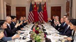 Bức ảnh hé lộ thái độ trái ngược của Mỹ và TQ trong đàm phán thương mại
