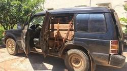 """Gia Lai: Phát hiện xe gỗ lậu bị """"bỏ quên"""""""