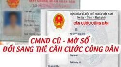 CMND cũ, mất ngày tháng năm sinh đổi sang thẻ căn cước được không?