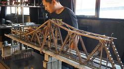 Ảnh-clip: Khám phá cây cầu Long Biên thu nhỏ y như thật