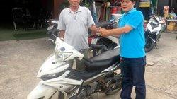 """""""Hiệp sĩ"""" Nguyễn Thanh Hải trả chiếc xe máy dùng bắt trộm cướp"""