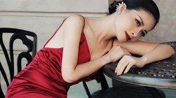 Dương Hoàng Yến diện váy gợi cảm, khoe lưng trần trong bộ ảnh chào mừng 20/10