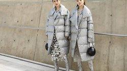 Mặc đồ như sinh đôi tại Seoul fashion week, Kelly và Lily Luta lên Vogue