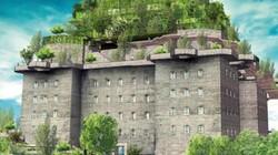 Pháo đài của Đức quốc xã sắp biến thành khách sạn xa xỉ với vườn treo 5 tầng