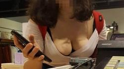 Cúi người hỏi đường, cô gái khiến nhân viên thu ngân ngượng chín mặt