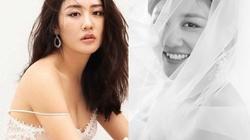 Văn Mai Hương khoe ảnh cô dâu mặc nghi vấn dùng giấy kết hôn giả