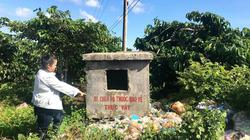 Gia Lai: Cả trăm bể chứa vỏ thuốc bảo vệ thực vật ngập trong rác bẩn
