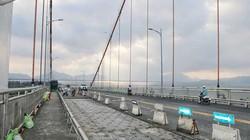 Đà Nẵng: Lại sửa chữa cầu dây võng Thuận Phước