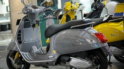 Cận cảnh Vespa GTS Super Tech 300 giá 250 triệu đồng đẹp không tì vết