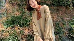 5 cách mặc váy hè siêu chất mùa thu đông
