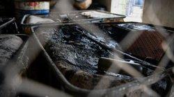 """Ảnh, clip: Mục sở thị nơi xuất xứ số dầu thải """"đầu độc"""" nước sông Đà"""