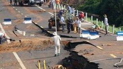 Vì sao đường 250 tỷ đồng vừa hoàn thành đã nứt toác?