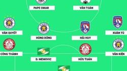 Đội hình tiêu biểu V.League 2019: Hà Nội FC và CLB TP.HCM áp đảo