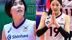 Cặp song sinh đẹp tựa thiên thần của bóng chuyền nữ Hàn Quốc