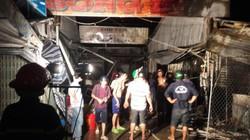 Cà Mau: Cháy 16 quầy hàng chợ tạm, thiệt hại tiền tỷ