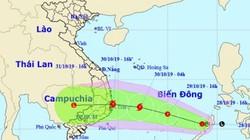 Áp thấp nhiệt đới khả năng mạnh thành bão, Trung Bộ và Tây Nguyên sắp mưa rất lớn