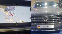 Lại 'đường lưỡi bò' phi pháp trên xe Volkswagen trưng bày tại VMS 2019