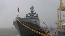 ẢNH: Khu trục hiện đại nhất của Hải quân Ấn Độ cập cảng Đà Nẵng