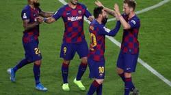 """Kết quả bóng đá 29/10 và 30/10: Messi """"lên thần"""", Barcelona thắng hủy diệt"""