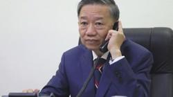 Bộ trưởng Tô Lâm điện đàm với Bộ trưởng Nội vụ Anh vụ 39 người chết
