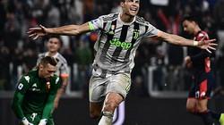 Ronaldo ăn vạ phút bù giờ, giúp Juventus thắng nghẹt thở?