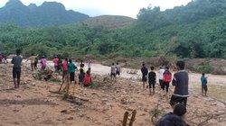 Quảng Trị: Tìm kiếm một phụ nữ mất tích do nước cuốn trôi