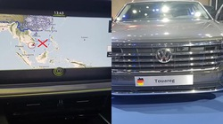 """Sẽ xử lý chiếc ô tô Volkswagen Touareg có """"đường lưỡi bò"""" phi pháp vào tuần tới"""