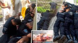 Băng đảng Mexico nổi loạn trong tù: Cai ngục bị bắt quỳ gối, xác tù nhân la liệt