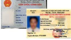 Đổi tên đệm trên CMND, CCCD có phải thi lại bằng lái xe không?