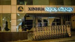 Phản ứng của báo TQ sau khi người biểu tình đập phá trụ sở Tân Hoa Xã ở Hong Kong