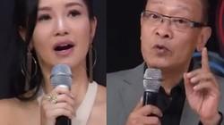 MC Lại Văn Sâm tố diva Hồng Nhung mất kỷ luật, làm lố trên sóng trực tiếp