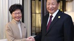 Ông Tập nói gì với lãnh đạo Hong Kong sau nhiều tháng bất ổn?