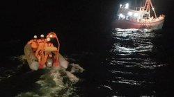 Một thuyền viên bị đứt lìa chân ngoài biển Hoàng Sa