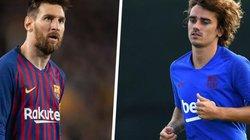 Lộ bằng chứng chứng tỏ Messi 'lạnh nhạt' với Griezmann