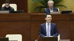 """Bộ trưởng Nguyễn Mạnh Hùng: """"Ba phút không biết chọn cái gì để nói"""""""