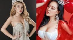 """Đoạt giải Á hậu 2 gây xôn xao, Ngân 98 mặc đồ """"ít vải"""" để """"soán ngôi"""" Ngọc Trinh?"""