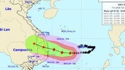 Bão số 6 Nakri hướng vào miền Trung, nhiều tỉnh mưa rất to từ đêm nay