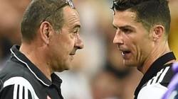Juve thắng Milan, Ronaldo giận dỗi rời sân, HLV Sarri giải thích bất ngờ
