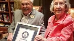 Cụ ông, cụ bà này trở thành cặp đôi sống thọ nhất thế giới