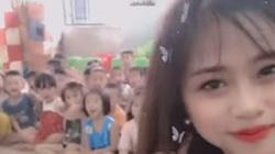 Clip: Cô giáo xinh đẹp huấn luyện học sinh thành fan cuồng cực đáng yêu