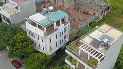 """Biệt thự lạ """"mọc"""" trong dự án nhà ở công an huyện Đông Anh bỏ hoang"""