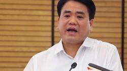 """Chủ tịch Hà Nội: """"Không ai thuê các đối tượng đổ dầu thải xuống suối"""""""